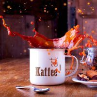 Tassen - Kaffe_art mit Logo